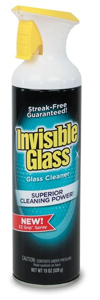 Invisible Glass EZ Grip premium glass cleaner available at The Home Depot Window Cleaning Tips, Cleaning Hacks, Invisible Glass, Window Cleaner, Cleaning Tips