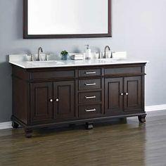 """Camden 72"""" Double Sink Vanity by Mission Hills $1299 thru 1/22/17"""