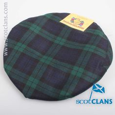 Campbell Modern Tartan Cap. Free worldwide shipping available
