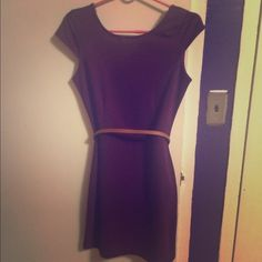 Purple dress Purple dress, size M in Juniors. Perfect for the warm weather. Casual wear or dress it up with accessories. Let me know if you have any other questions. Dresses Mini