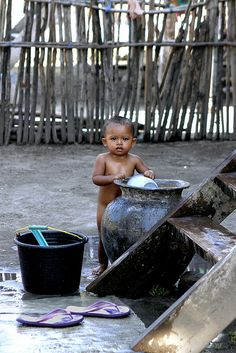 Pulau Moyo . Indonesia