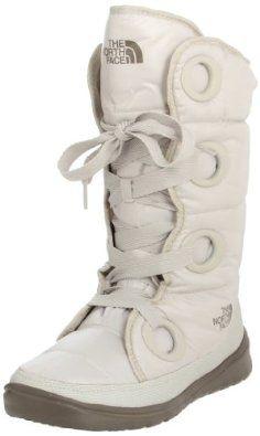 The North Face Destiny Down Boot - Women's Shiny Moonlight Ivory/Classic Khaki