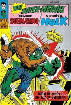 Príncipe Submarino e O Incrível Hulk (Super X) n° 30 - Ebal