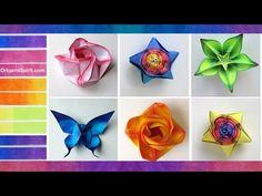 Cómo colorear papel para origami