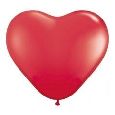 Balony SERCA czerwone 20 cm, 6 sztuk
