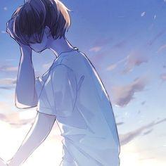 | Save = follow | #Gấu Anime Love, Anime Cupples, Sad Anime, Kawaii Anime, Anime Guys, Anime Art, Anime Couples Drawings, Couple Drawings, Cute Anime Couples