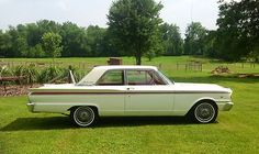 Ford : Fairlane 500  1963 FORD FAIRLANE 500 - 2 DO - http://www.legendaryfinds.com/ford-fairlane-500-1963-ford-fairlane-500-2-do/