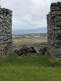 Dun Eochla, ancient fort. Inishmore, Aran Islands, Ireland. Come see for yourself on our Western Ireland tour: http://distantmountaintrips.com/organized-guided-trips/western-ireland/