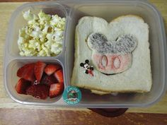 Loving Lunches: Mickey Mouse Lunches