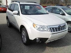 Buy a New Car...DONE-The Pearl  2013 Subaru Forester 2.5X Premium w/All-Weather Plus Pkg