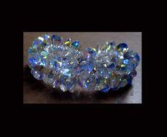 pulseira de rívolis cristais swarovski.