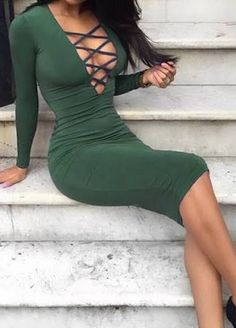 green slutty dress - Google Search