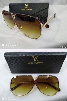 d73c853e6 ÓCULOS DE SOL LOUIS VUITTON DRIVE EVIDENCE LUXO/ MARROM todos os nosso  oculos contém proteção