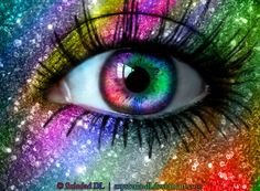 Rainbow Emoticons | Rainbow Eye by ~mysteria-dl on deviantART Different Colored Eyes, My Boo, Eye Art, Cool Eyes, Betty Boop, Beautiful Eyes, Magic Eyes, Eye Images, Rainbow Eyes