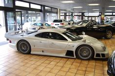 Originally, the CLK GTR was developed to compete in the FIA GT Championship. In street form, it had a 6.9-liter V12 that made 612 bhp and 568 lb.-ft. For the late 1990s, that was an incredible amount of power.