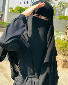 Mode Niqab, Mode Abaya, Moslem Fashion, Niqab Fashion, Beautiful Muslim Women, Beautiful Hijab, Hijabi Girl, Girl Hijab, Mekka Islam