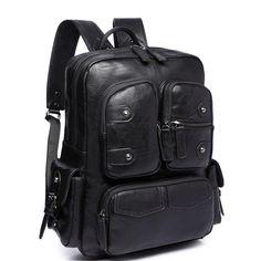 Vintage Backpacks, Men's Backpack, School Fashion, Travel Accessories, School Bags, Travel Bag, Fashion Bags, Leather Men, Vintage Fashion