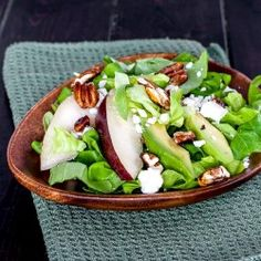 PEAR AND LETTUCE SALAD