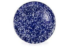 Medium Tray, Cobalt Swirl