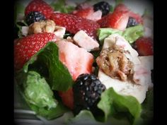 Easy Mixed Berry Salad | Ivy's Kitchen