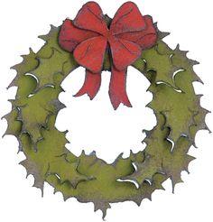 Sizzix Bigz Die By Tim Holtz Holiday Wreath