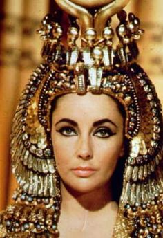 In role of Cleopatra.