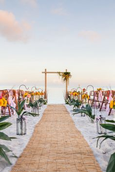 If I could redo our wedding or renew our vows I would totally get married on the beach! I love the beach!!!