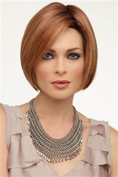 The latest synthetic and human hair wigs from Raquel Welch, Jon Renau, and more. Short Lace Front Wigs, Short Wigs, Synthetic Lace Front Wigs, Synthetic Wigs, Short Hairstyles For Women, Bob Hairstyles, Pretty Hairstyles, Medium Hair Styles, Short Hair Styles