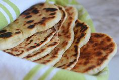 Homemade Naan - Once Upon a Chef