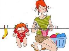50 ilustraciones para reírnos desde el embarazo hasta la maternidad Family Illustration, Photography Illustration, Cute Illustration, Baby Drawing, Drawing For Kids, Mother And Child Drawing, Pregnancy Images, Mommy Humor, Baby Center