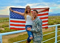 Visit bridesacrossamerica.com  #BridesAcrossAmerica #MilitaryWeddin