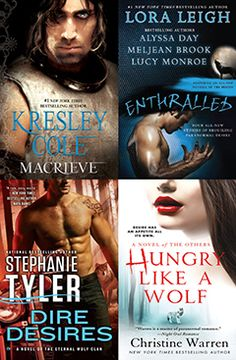 July 2013 New Releases Paranormal Romance