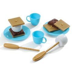 Amazon.com: Step2 Stack n Stay S'mores Cooking Kit: Toys & Games