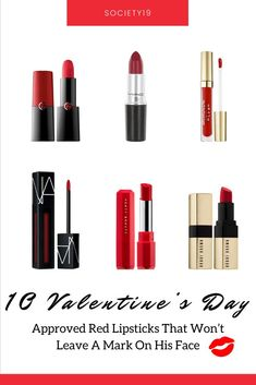 10 Valentine's Day Approved Red Lipsticks That Won't Leave A Mark On His Face - Hot Red Lipstick, Red Lipstick Shades, Red Lipsticks, Makeup Tips For Dry Skin, How To Apply Makeup, Cosmetic World, Everlasting Liquid Lipstick, Prom Makeup Looks