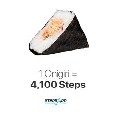 Onigiri rice ball, is a Japanese food made from white rice formed into triangular or cylindrical shapes and often wrapped in nori (seaweed). Traditionally, an onigiri is filled with pickled ume (umeboshi), salted salmon, katsuobushi, kombu, tarako, or any other salty or sour ingredient as a natural preservative.   #StepsApp #10ksteps #pedometer #instafood #lowcarb #budget #chef #cleaneating Nori Seaweed, Natural Preservatives, Rice Balls, White Rice, Japanese Food, Salmon, Clean Eating, Low Carb, Walking