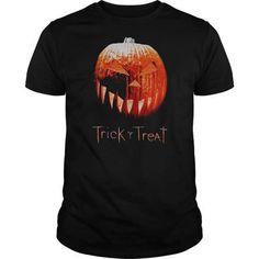 Trick R Treat Pumpkin T-Shirts & Hoodies