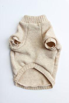 Reciclado de estrella perro suéter XS
