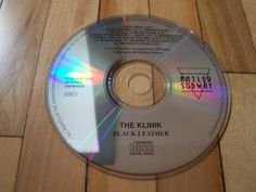 THE KLINIK Black Leather CD Only Missing Cover Insert & Jewel Case Antler Subway