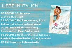 """Das Lesesofa: Blogtour """"Liebe in Italien"""" von Nicole König"""