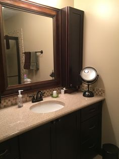 Custom Cultured Marble Vanity Top Shown In The Color