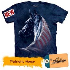 Patriotic Horse Cai, Mountain, Horses, Movie Posters, Film Poster, Horse, Billboard, Film Posters, Mountaineering