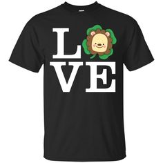 Funny Lion Shirt Love Animals – Vota Color