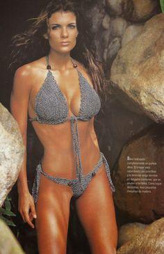 Traje de baño Bikini a Crochet o Ganchillo