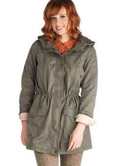 Lily Patch Trail Coat, #ModCloth