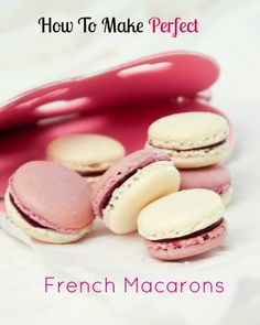 Valentine's Day is coming up! Learn how to make perfect French Macarons | recipe by Stephane Treand, Master Pastry Chef MOF