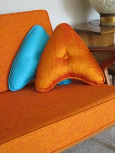 Star Trek communicator throw pillows. File under: Things I need in my life immediately.
