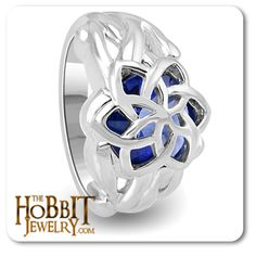 Galadriel's Nenya Ring | Lord of the Rings Jewellery | From Middle Earth