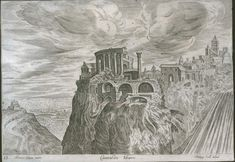 Руины древней цивилизации на картинах и гравюрах 16 века: wowavostok