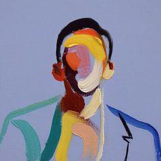 Homme 68 by Loribelle Spirovski – - Art ideas Art Inspo, Painting Inspiration, L'art Du Portrait, Art Et Illustration, Fantasy Kunst, Arte Pop, Art Moderne, Aesthetic Art, Art Sketchbook