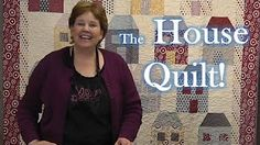 house quilt block - YouTube